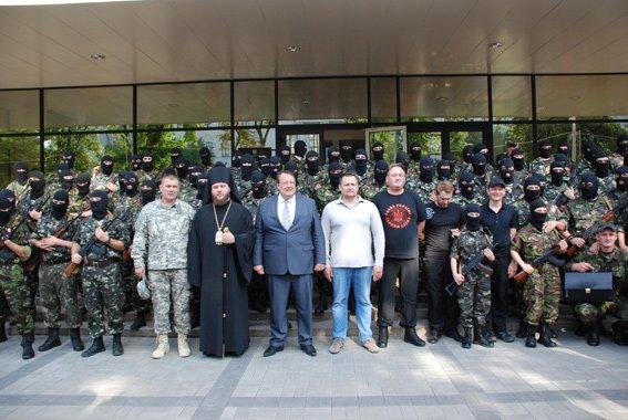 В Днепропетровске приняла торжественную присягу первая сотня батальона «Шахтерск» (ФОТО, ВИДЕО), фото-2