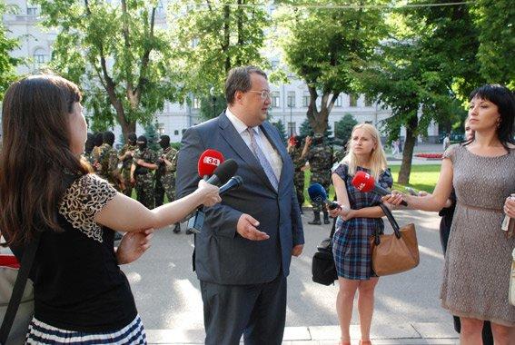 В Днепропетровске приняла торжественную присягу первая сотня батальона «Шахтерск» (ФОТО, ВИДЕО), фото-3
