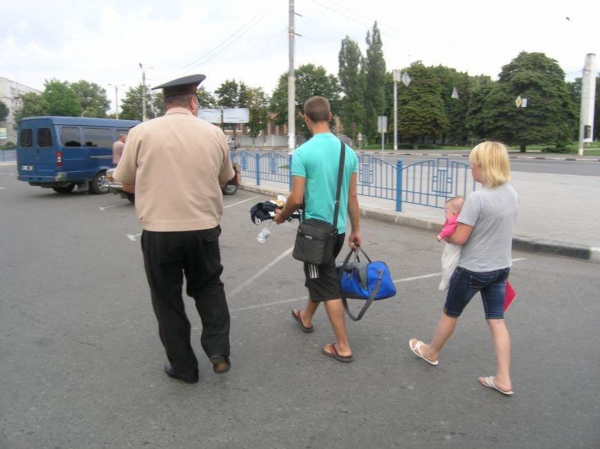 В Сумах спасатели оказали помощь переселенцам из района проведения АТО (ФОТО), фото-1