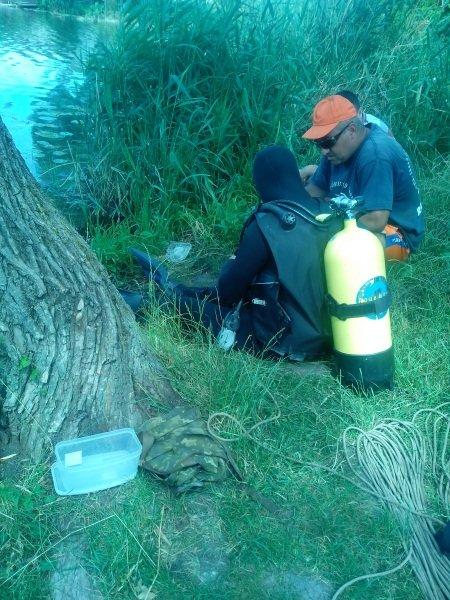 На Рівненщині втопленого рибалку шукали водолази (Фото), фото-1