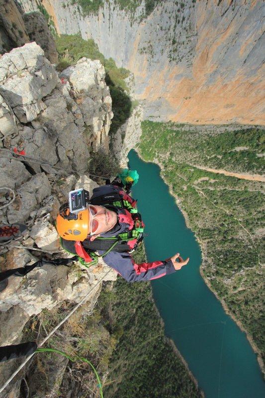 Запорожские спортсмены поставили мировой рекорд в испанских горах (ФОТО), фото-8