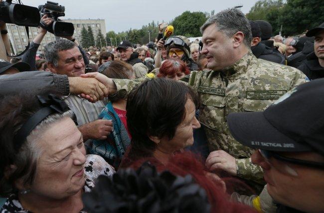 Петр Порошенко в Славянске (ФОТОФАКТ), фото-3