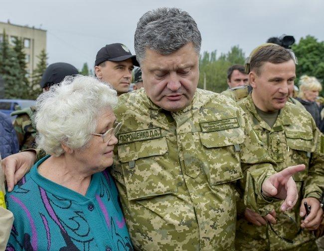 Петр Порошенко в Славянске (ФОТОФАКТ), фото-5