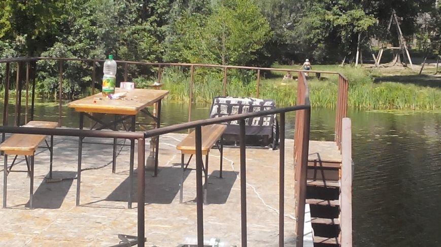 В Сумах из-за аварии на плавучем доме по Пслу растянулась маслянистая пленка (ФОТО), фото-7