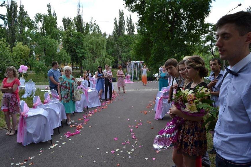 В Кривом Роге  провели выездную свадебную церемонию в парке «Правды», фото-4