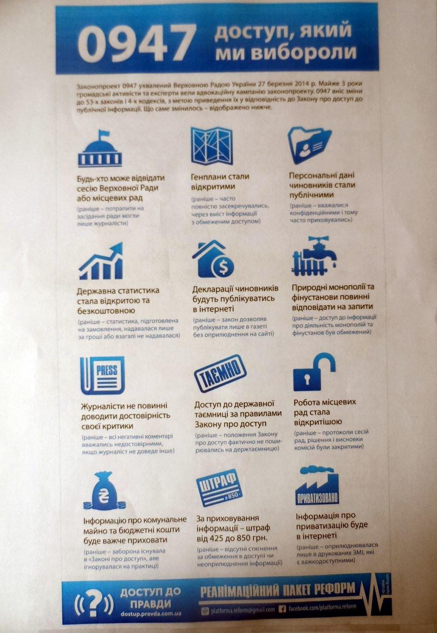 Сумчане могут посетить сессию Верховной Рады или местных советов, подать запрос в банки и естественные монополии, фото-1