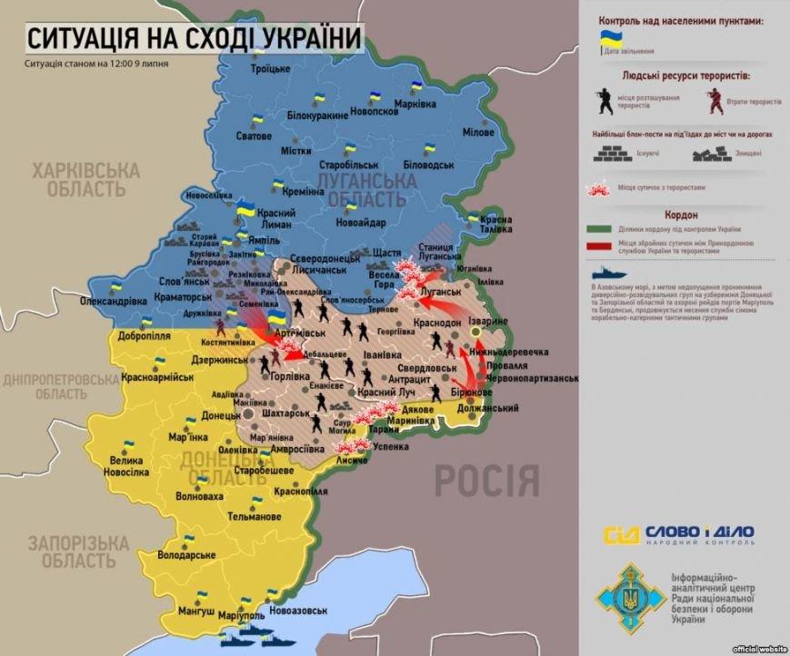 Битва за Донбасс (карта боев), фото-1