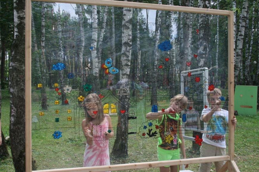 Выставка-презентация Лобановского и Краснопутьского округов проходит в парке Елочки, фото-2