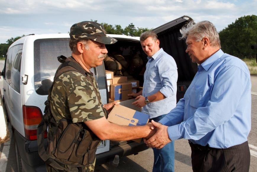 Солдаты отдельного батальона территориальной обороны «Сумы» получили амуницию от Киевской региональной организации миротворцев, фото-3
