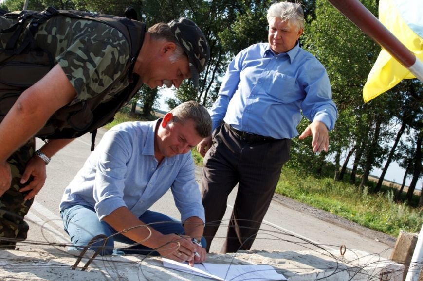 Солдаты отдельного батальона территориальной обороны «Сумы» получили амуницию от Киевской региональной организации миротворцев, фото-5