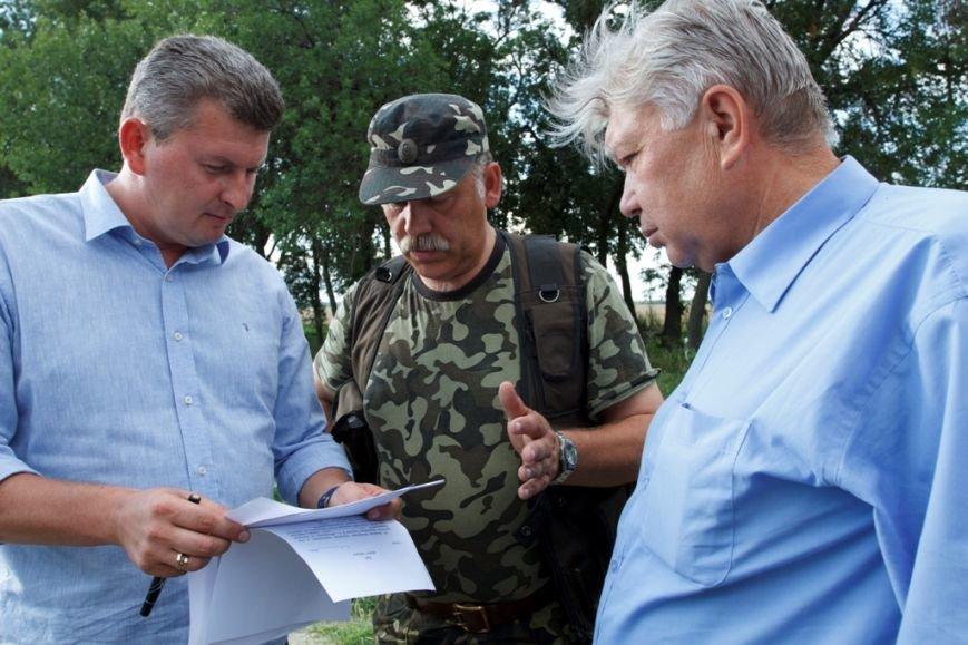 Солдаты отдельного батальона территориальной обороны «Сумы» получили амуницию от Киевской региональной организации миротворцев, фото-2