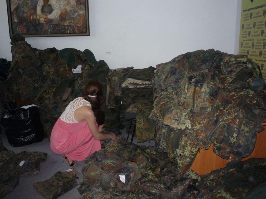 У львівській самообороні підготували чергову передачу на фронт (ФОТО), фото-1