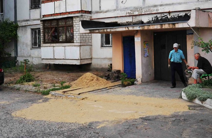 В Ильичёвске прорвало канализацию, фото-1