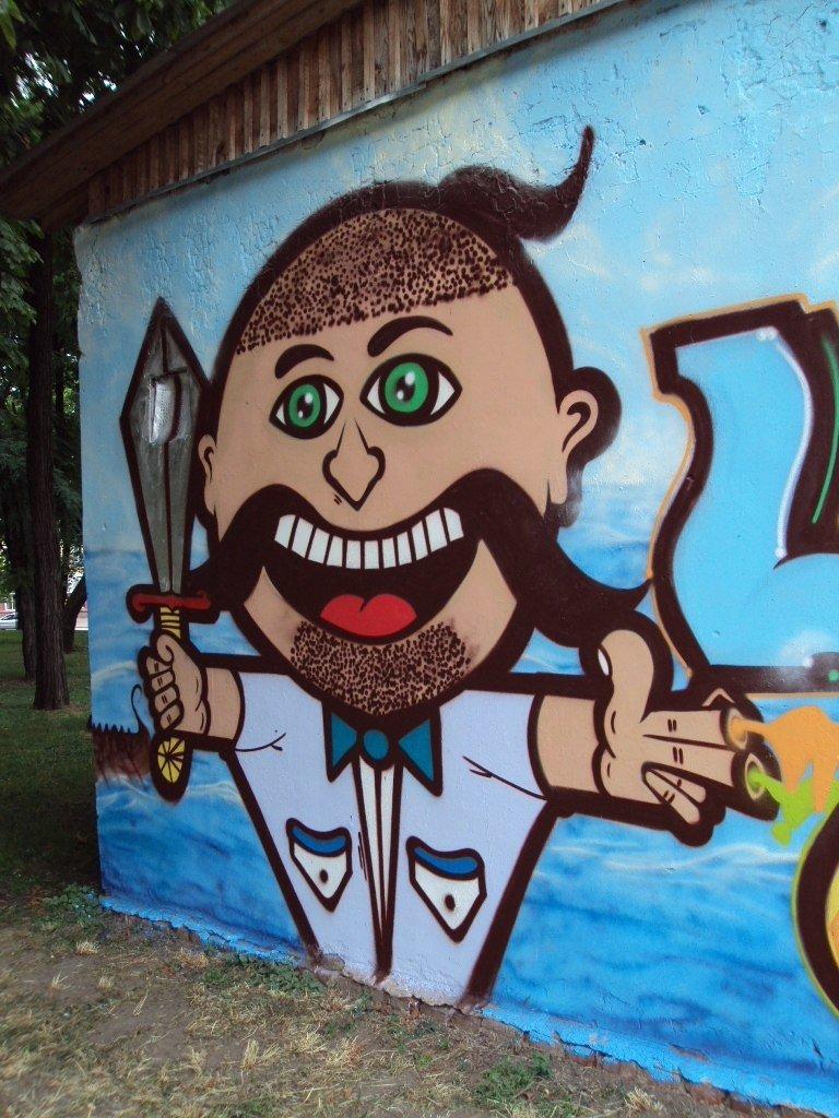 Новый шедевр уличного искусства появился в Чернигове, фото-2