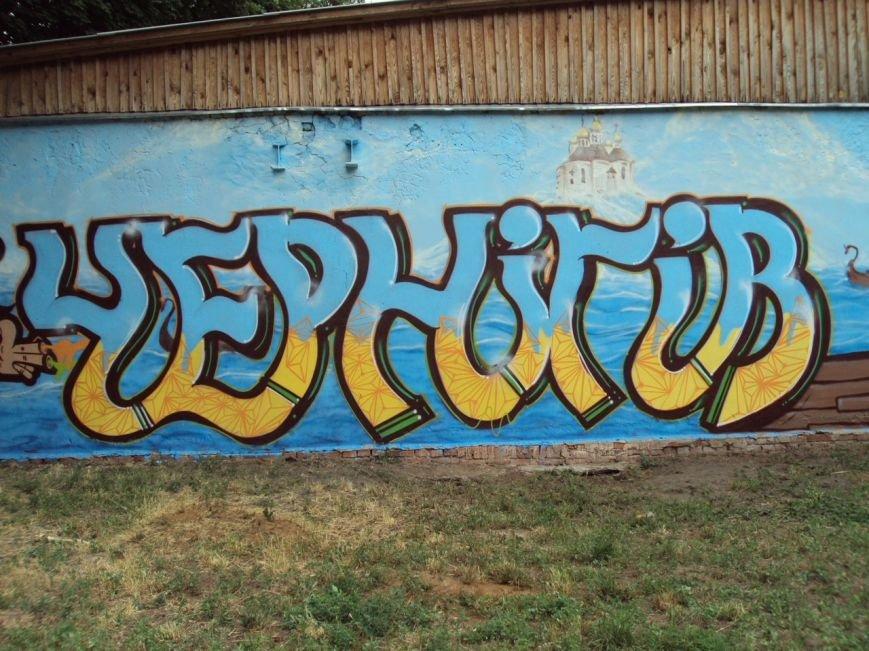 Новый шедевр уличного искусства появился в Чернигове, фото-9