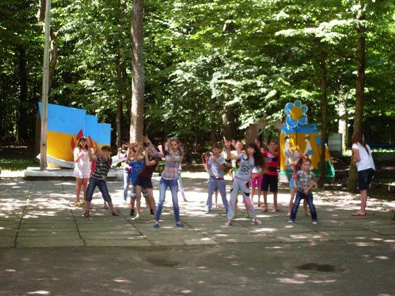 Рівненські правоохоронці-транспортники відвідали дитячий табір (Фото), фото-2