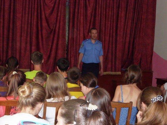 Рівненські правоохоронці-транспортники відвідали дитячий табір (Фото), фото-3