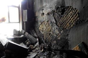 В Киеве горел корпус университета имени Богомольца. Обошлось без пострадавших (ФОТО), фото-1