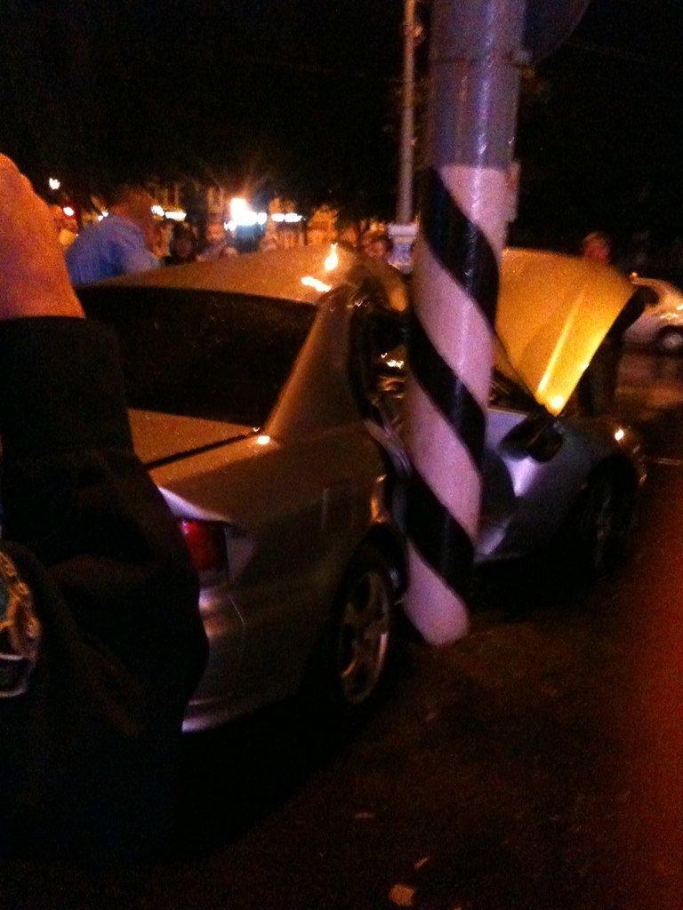 В Сумах пьяный водитель из России врезался в столб. Умерла пассажирка (ФОТО), фото-3