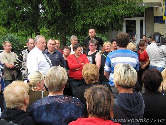 Рівненські тоговці пікетували рішення прокуратури (Фото, відео), фото-1