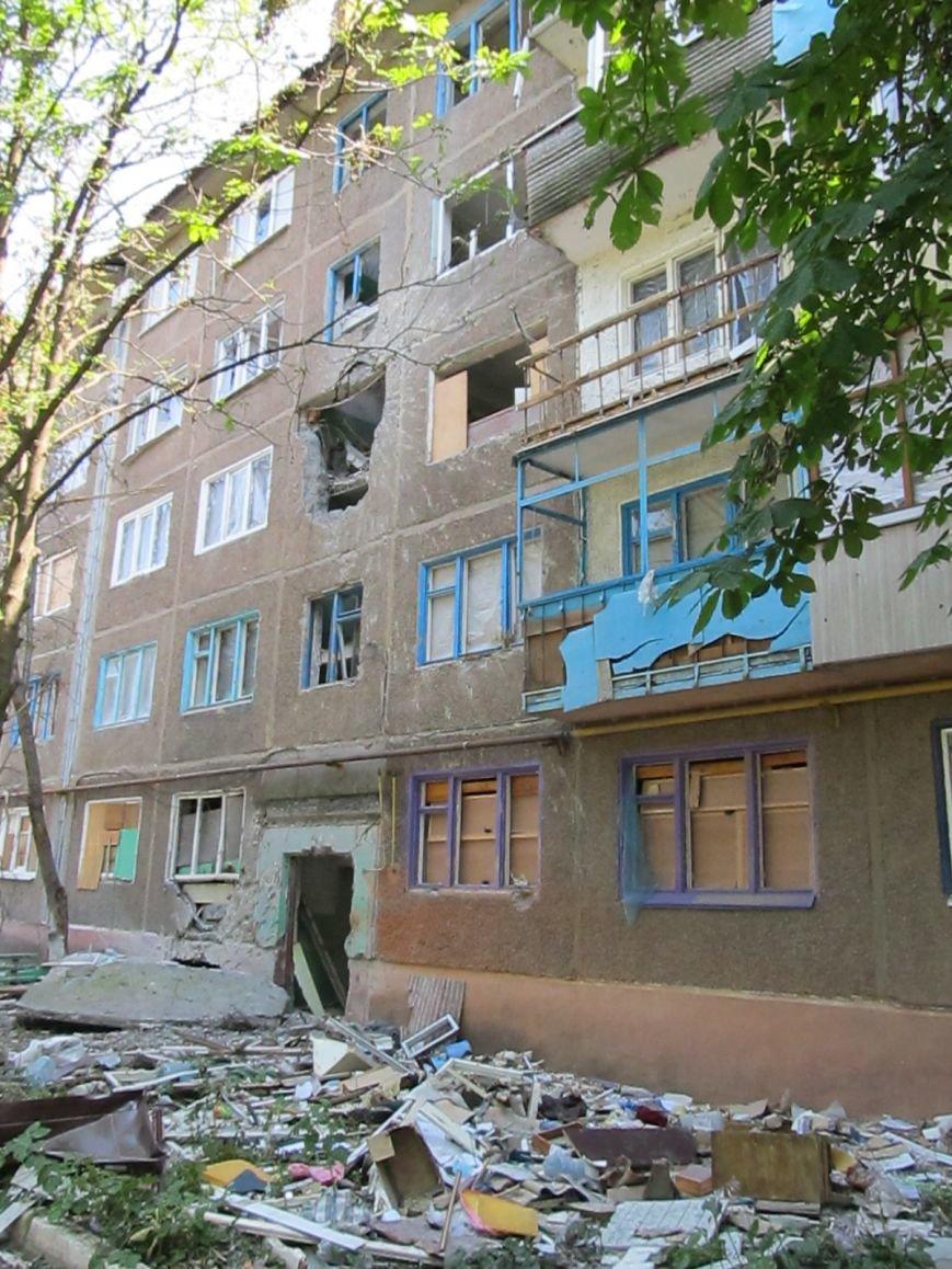 Сумы-Славянск. В освобожденный от боевиков город прибыла гуманитарная помощь для «детей необъявленной войны» (ФОТО), фото-3