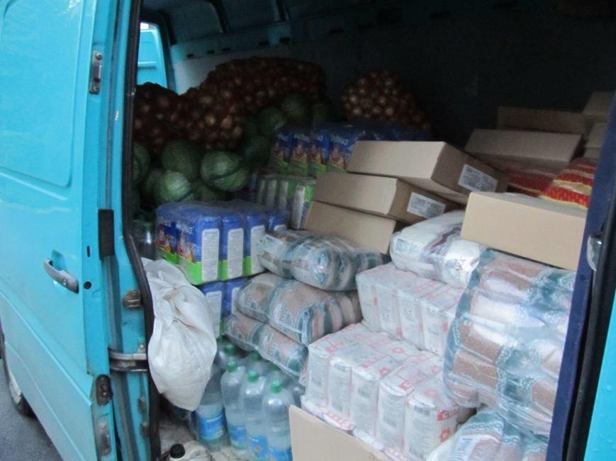 Сумы-Славянск. В освобожденный от боевиков город прибыла гуманитарная помощь для «детей необъявленной войны» (ФОТО), фото-1