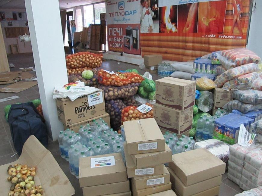 Сумы-Славянск. В освобожденный от боевиков город прибыла гуманитарная помощь для «детей необъявленной войны» (ФОТО), фото-7
