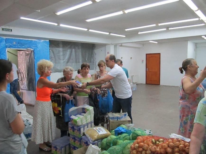 Сумы-Славянск. В освобожденный от боевиков город прибыла гуманитарная помощь для «детей необъявленной войны» (ФОТО), фото-6