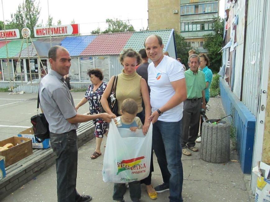 Сумы-Славянск. В освобожденный от боевиков город прибыла гуманитарная помощь для «детей необъявленной войны» (ФОТО), фото-10