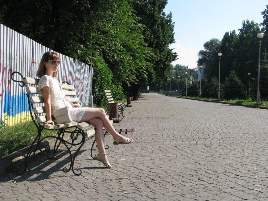 Парк трудовой славы: многолюдно и грязно (фото) - фото 2