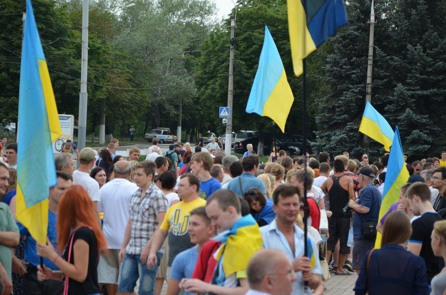 В Мариуполе растянули самый большой флаг Украины (ФОТОРЕПОРТАЖ), фото-6