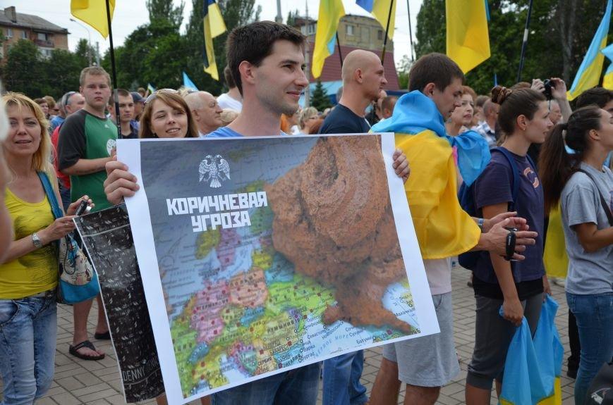В Мариуполе растянули самый большой флаг Украины (ФОТОРЕПОРТАЖ), фото-2