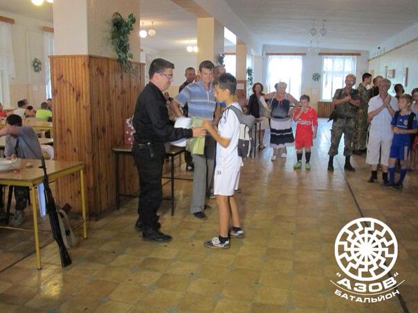 Мариупольский «Витязь» завоевал кубок батальона «Азов»  по футболу (ФОТО), фото-4