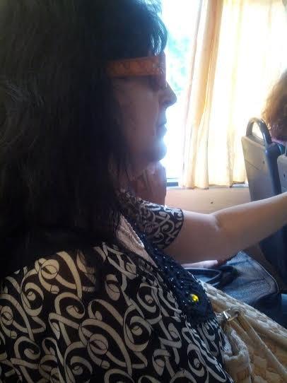 В Мариуполе «рупор» ДНРа Ирина Воропаева стесняется своей популярности (Фотофакт), фото-1