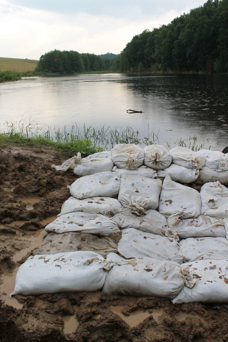 На Сумщине «диверсант» пытался разрыть плотину на пруду (ФОТО), фото-6