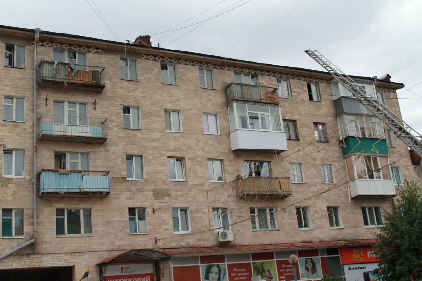 В центре Сум душевнобольной угрожал взорвать дом (ФОТО), фото-9
