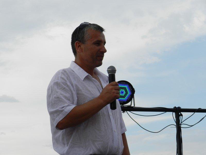 Президент Федерации рыболовного спорта в Севастополе Василий Мединский