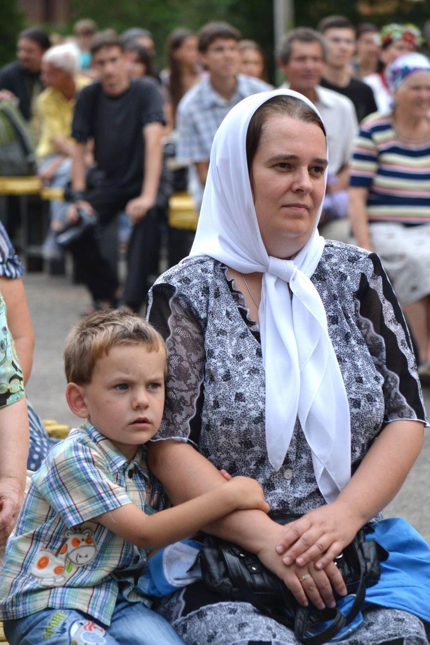 В Запорожье на фестивале семейные коллективы спели свои любимые песни (ФОТО), фото-10