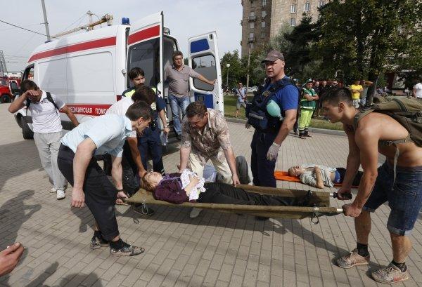 В катастрофі у московському метро дивом не постраждав львів'янин (ФОТО), фото-1