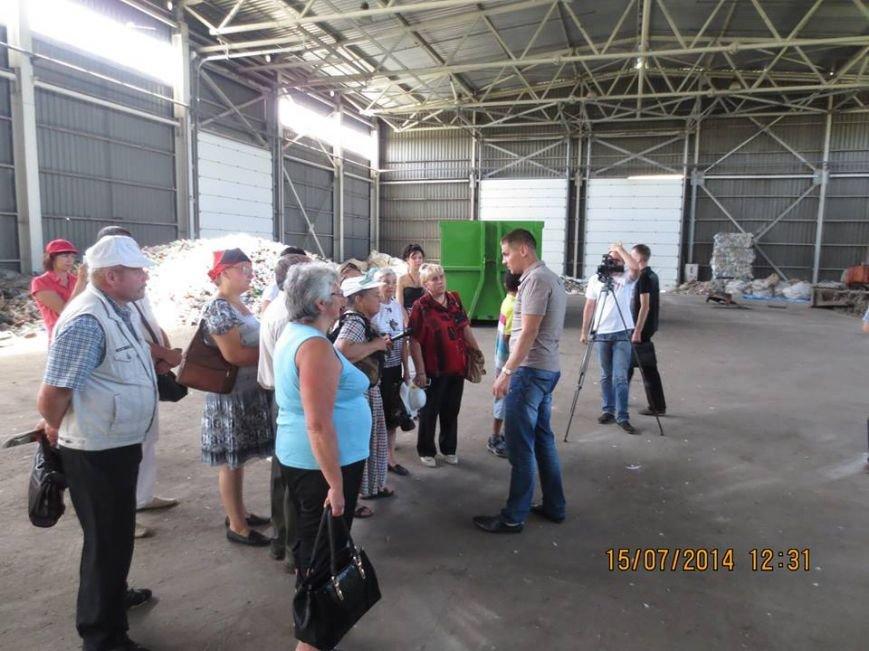 Відбулася перша екскурсія на Рівненський сміттєпереробний завод (Фото), фото-1