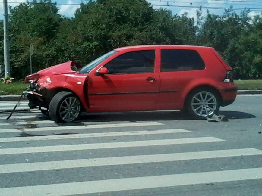 На Стрийській ДТП: зіштовхнулись дві іномарки (ФОТО), фото-2