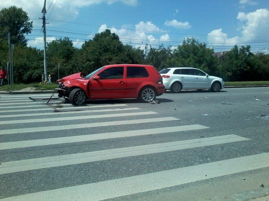 На Стрийській ДТП: зіштовхнулись дві іномарки (ФОТО), фото-5