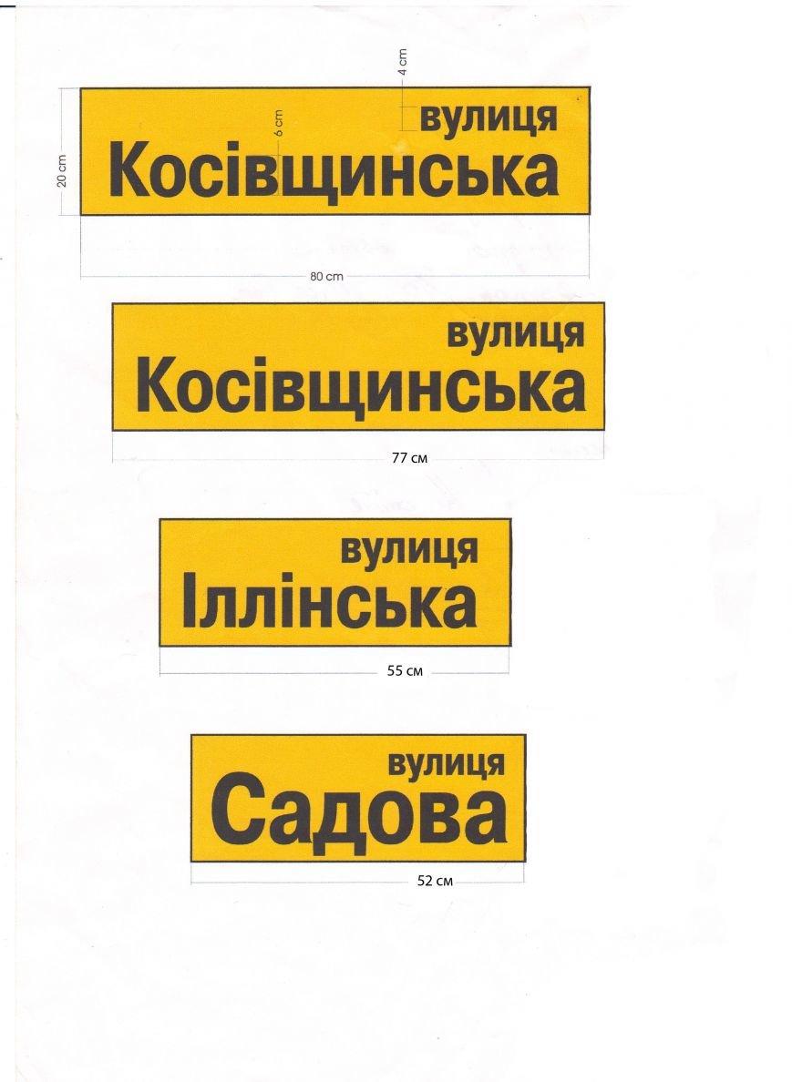 В Сумах займутся установкой указателей на улицы (ФОТО), фото-1