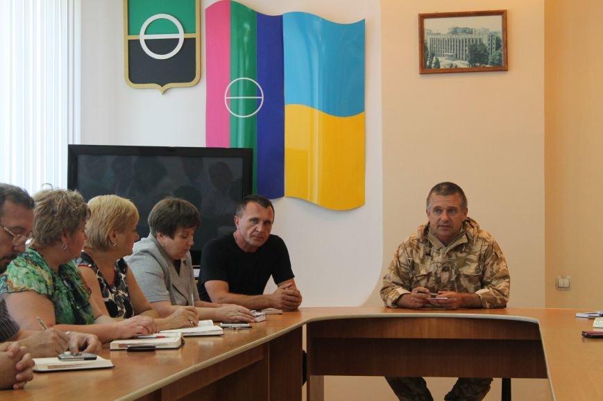 Начальником Артемовского горотдела назначен командир роты батальона «Артемовск» (ВИДЕО), фото-1