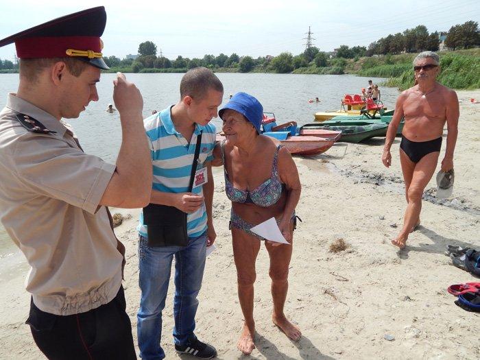 Криворожские спасатели и волонтеры пообщались с отдыхающими на пляжах, фото-1