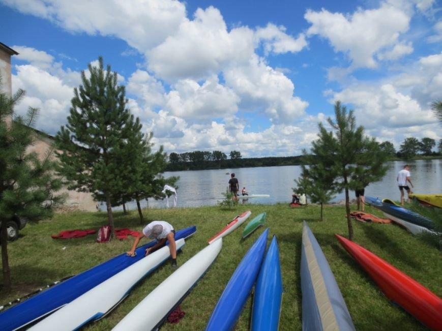 На Львівщині розіграли «путівки» на турнір з плавання на байдарках (фоторепортаж), фото-1