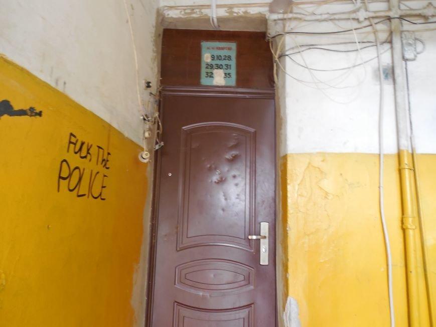 На Архитектора Бекетова часть балконного перекрытия упала прямо к соседям снизу, фото-5