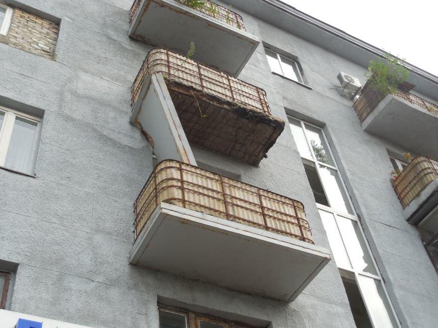 На Архитектора Бекетова часть балконного перекрытия упала прямо к соседям снизу, фото-6