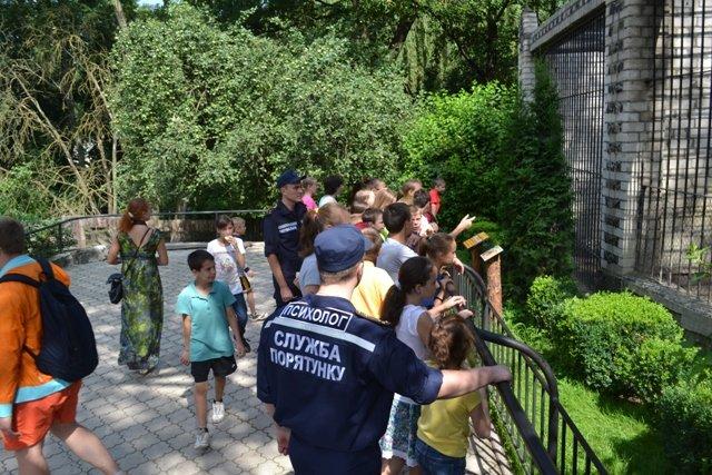 Рівне: діти з Луганської та Донецької областей побували на екскурсії в зоопарку (Фото), фото-2