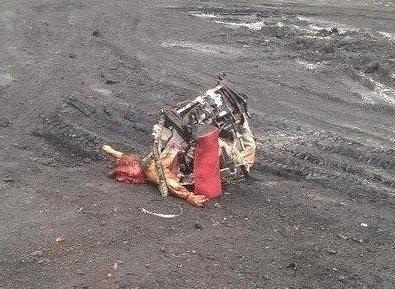 На месте авиакатастрофы пассажирского «Боинга» на Донетчине уже обнаружили тела 121 погибшего (ВИДЕО+ФОТО), фото-1
